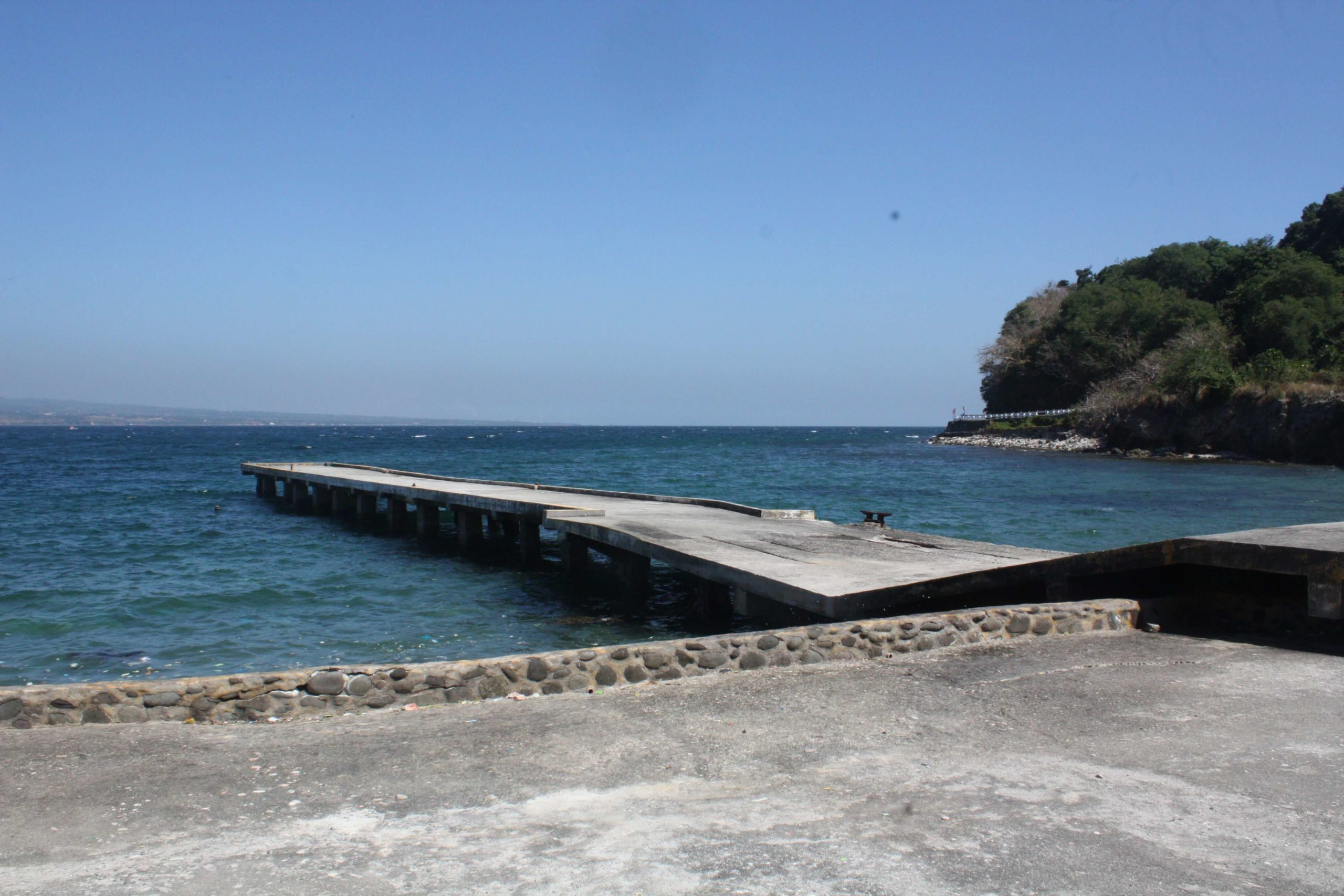 Dock in Corregidor Island