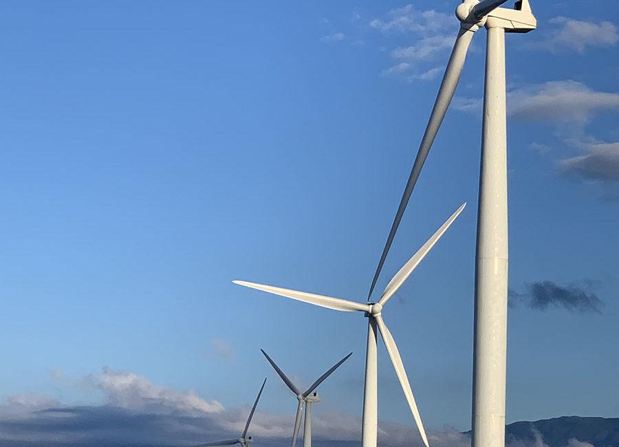 View of the giant windmills during Ilocos road trip in Bangui, Ilocos Norte