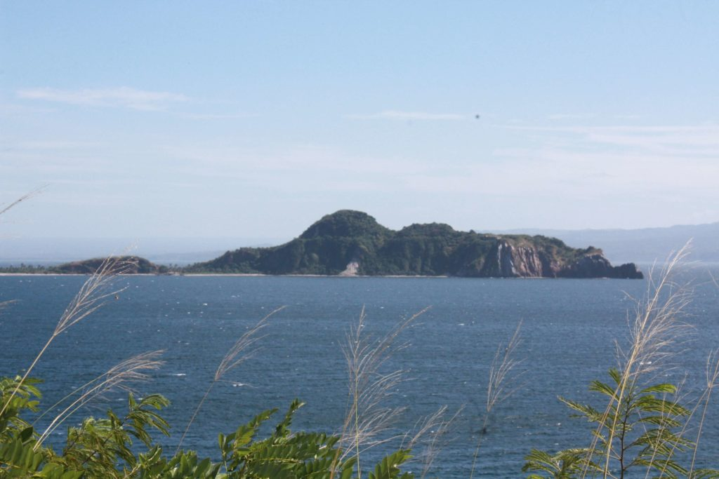 View from the tail-end of Corregidor