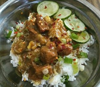 Kitchen Ad Lib's Beef Curry