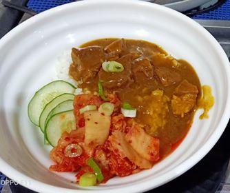 Kitchen Ad Lib's Beef Kimchi Rice