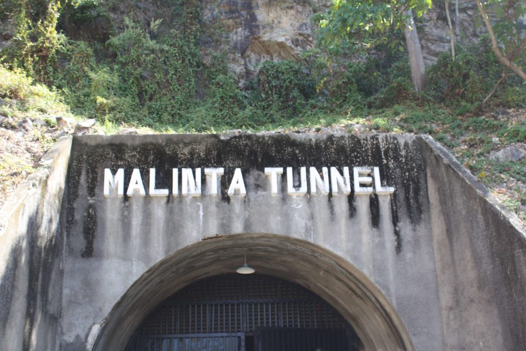 Malinta tunnel in Corregidor