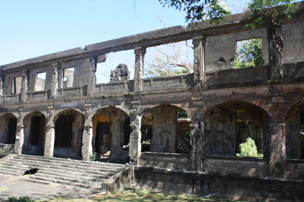 One of the barracks in Corregidor