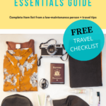 Travel Essentials: Packing List + Travel Tips