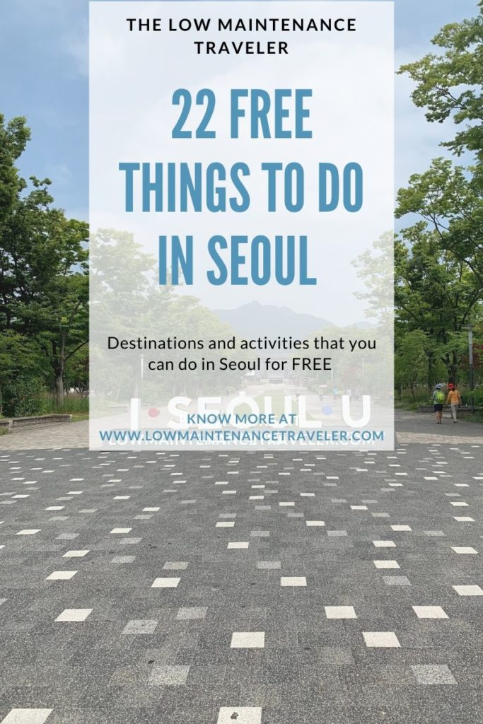 22 Free things to do in Seoul, South Korea