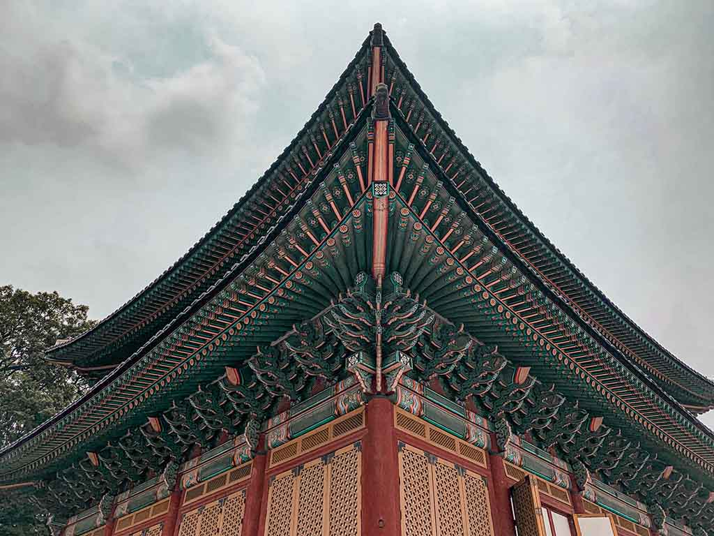 Changdeokgung Palace in Seoul South Korea