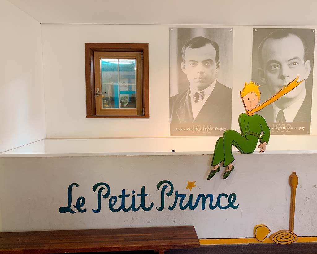Antoine de Saint Exupery memorial hall