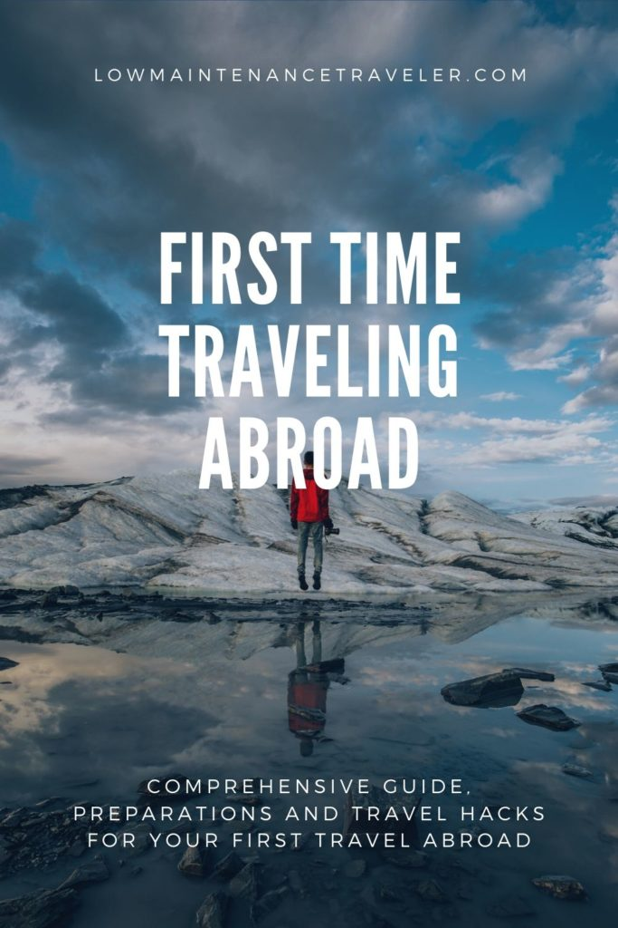 First time traveling abroad