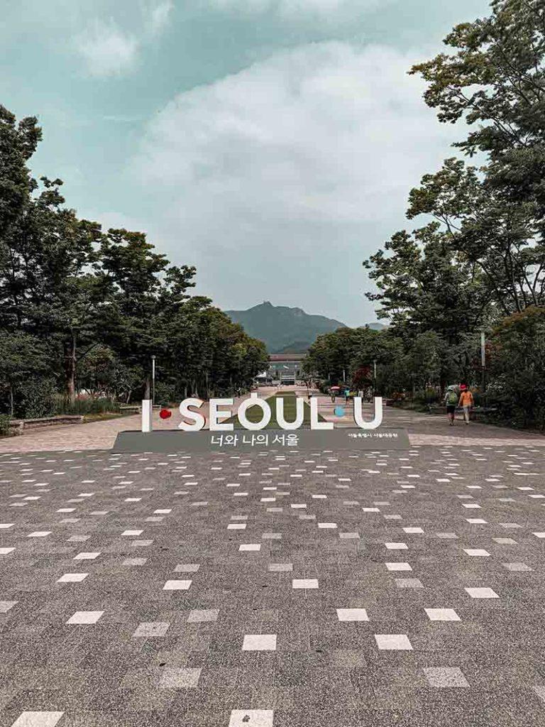 Seoul Grand Park Statue