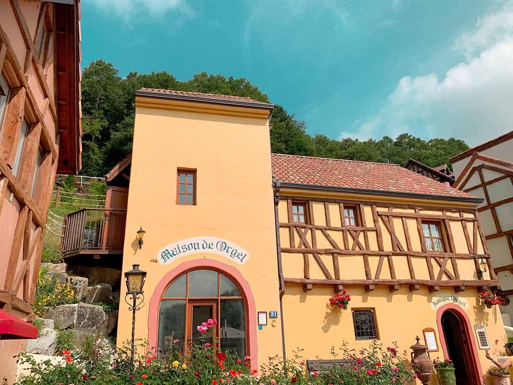 Maison de Orgel in Petite France
