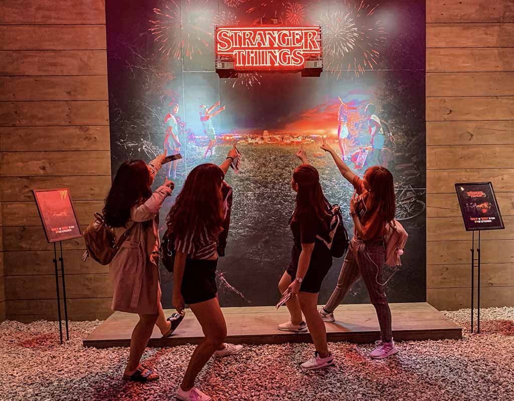 Stranger things pop-up Hongdae included in Seoul itinerary