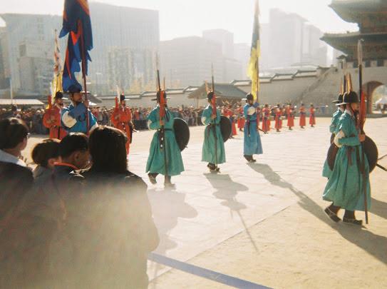 Changing of Guards in Jongno-gu, Seoul