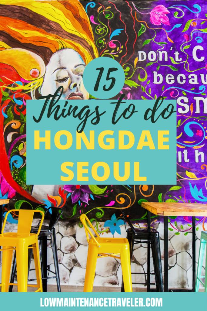 Things to do in Hongdae Seoul, South Korea